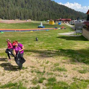 180 души чистиха Пирин планина