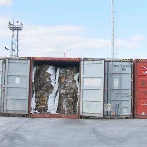20 от контейнерите с отпадъци на пристанище Варна-запад напуснаха България и ще бъдат върнати в Италия