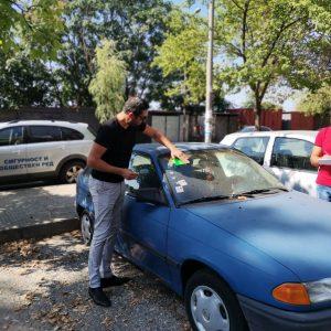 Акция за принудително отстраняване и маркиране на излезли от употреба моторни превозни средства (ИУМПС) стартира на територията на Благоевград