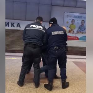Арест в столичното метро заради неспазване на мерките
