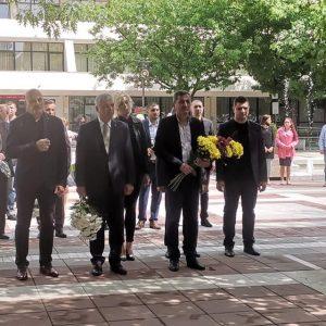 Благоевградската общественост се преклони пред паметта на Георги Измирлиев-Македончето