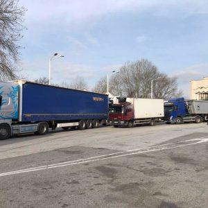 """Временно спират бързите тестове за шофьорите на камиони на ГКПП """"Промахон"""""""
