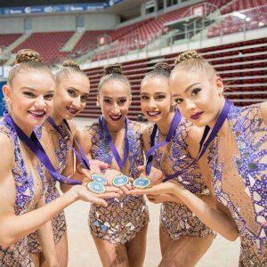 Държавен турнир по художествена гимнастика се провежда в Благоевград