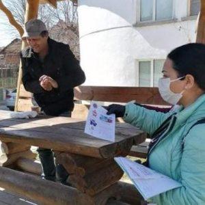 Здравните медиатори от община Благоевград с кампания в ромската махала