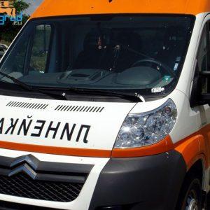 Линейка излетя от пътя Симитли-Разлог