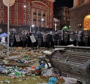 МВР се оплака пред ЕП за насилие от протестиращите