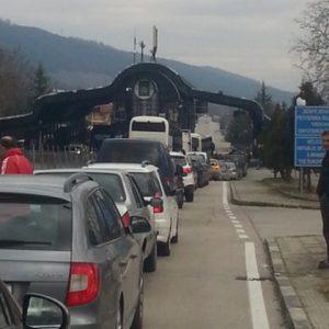 """На ГКПП """"Златарево"""" движението е затруднено поради ремонт.Трафикът на останалите пунктове е нормален"""