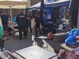 Полицаи иззеха физиологичен разтвор и водни боички от палатките на протестиращите майки