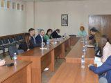 Председателят на студентските съвети в България се срещна с ръководството на ЮЗУ