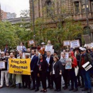 Протест в Сидни: Искат Джок Полфрийман да бъде върнат в родината си