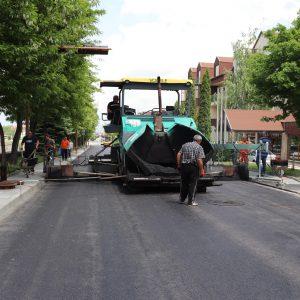 """Ремонтът на улица """"Глазне"""" в Банско е в последна фаза"""