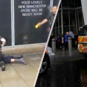 Четирима души са ранени след атака с нож в Манчестър