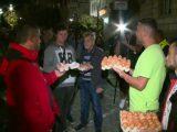 79-И ДЕН ПРОТЕСТИ: Яйца полетяха и по сградата на столичния общински съвет (СНИМКИ)