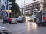 """Лек автомобил блъсна пешеходка на бул. """"Свети свети Кирил и Методий"""" в Благоевград"""